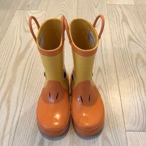 Toddler Boy/Girl Duck Rain Boots 🦆 ☂️💧